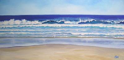 Painting - Alexandra Bay Noosa Heads Queensland Australia by Chris Hobel