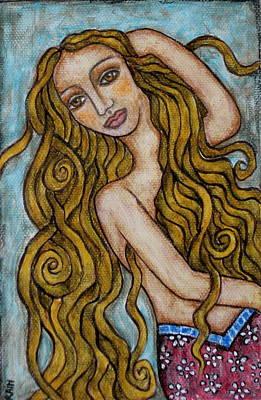Alexandrina Print by Rain Ririn