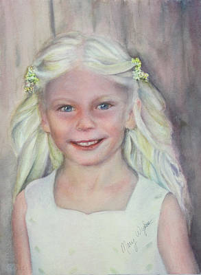Portrait Painting - Alexis by Mary Wykes