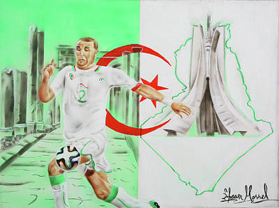 Painting - Algeria by Shawn Morrel