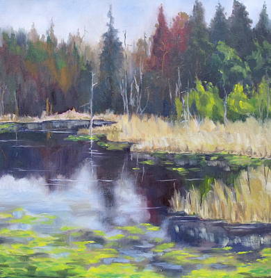 Algonquin Marsh Original by Diane Daigle
