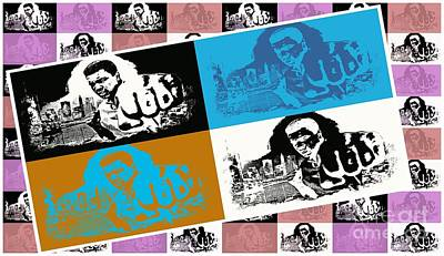Ali The Greatest - Tribute - Pop Art Print by Ian Gledhill