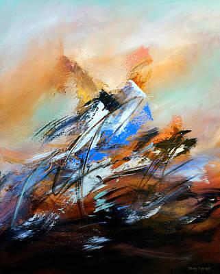 Abstract Painting - Alianza 2 by Thelma Zambrano