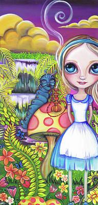 Alice And Absolem Original by Jaz Higgins