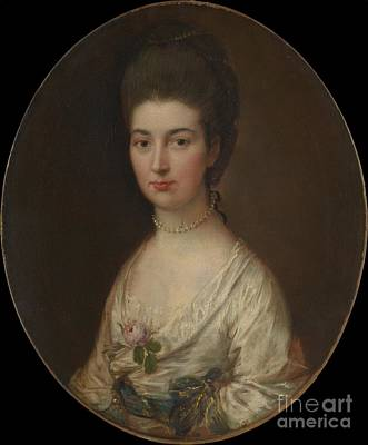 Sudbury Painting - Alice De Lancey by  Thomas Gainsborough