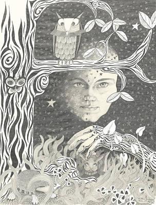 Alice Syndrome Print by Melinda Dare Benfield