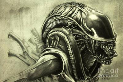 Alien Original by Chris Volpe
