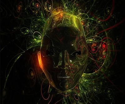 Xfiles Digital Art - Alien Mindscape By Raphael Terra by Raphael Terra