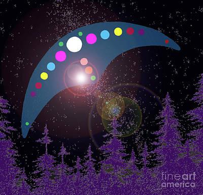 Alien Skies Print by James Williamson