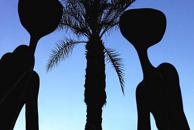Palm Springs Convention Center Photograph - Aliens In G-d's Desert Garden Paradise by Stan  Magnan