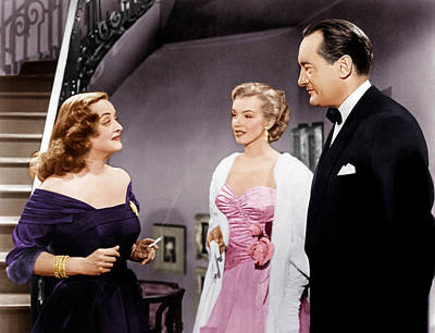 All About Eve, From Left Bette Davis Print by Everett