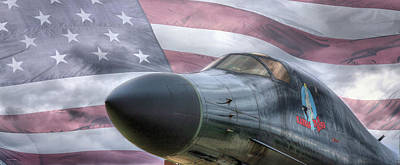 B1b Photograph - All American by JC Findley