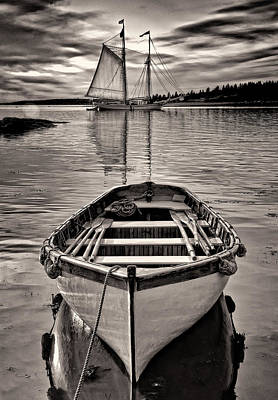 Windjammer Photograph - All Ashore by Fred LeBlanc