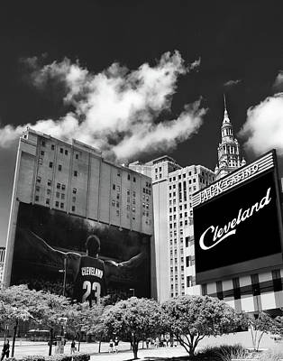 Lebron James Photograph - All In Cleveland by Kenneth Krolikowski