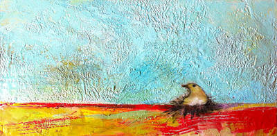 Encaustic Painting - All In Due Time by Barbara Hranilovich