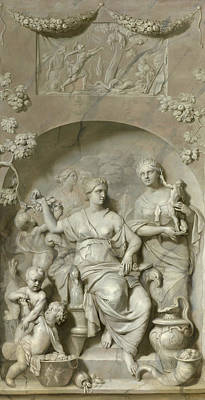 Painting - Allegory Of Wealth by Gerard de Lairesse