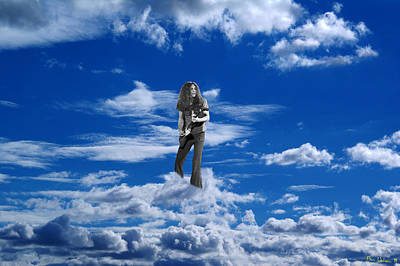 Photograph - Allen In The Clouds by Ben Upham