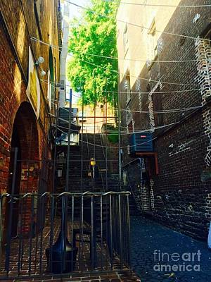 Photograph - Alley Lll by Robin Lewis