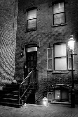 Alleyway In Boston - North End Print by Joann Vitali