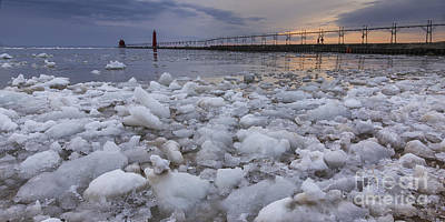Almost Spring In Grand Haven Print by Twenty Two North Photography
