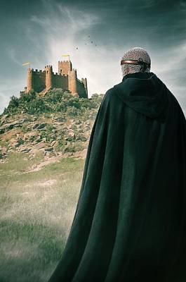 Knights Castle Photograph - Almourol Knight  by Carlos Caetano