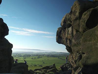 Almscliff Photograph - Almscliff Crag 2 by Steve Watson