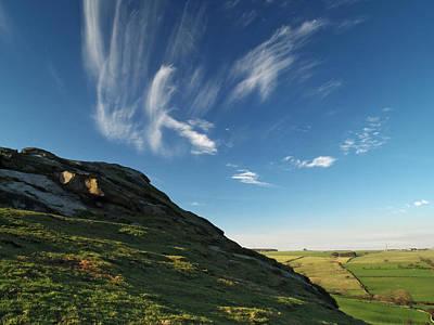 Almscliff Photograph - Almscliff Crag by Steve Watson