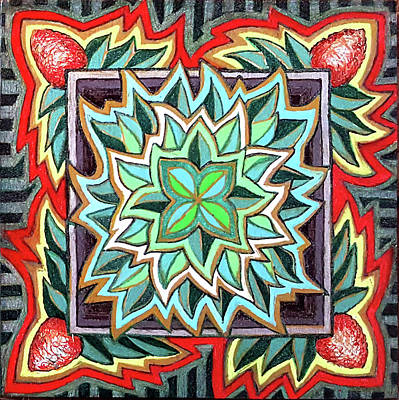 Aloha Mandala Original by Ethel Mann