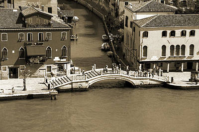 Along The Grand Canal Original by Terence Davis