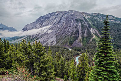 Alberta Photograph - Along The Icefields Parkway by Joan Carroll