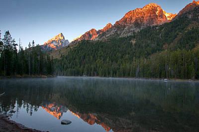 Alpen Glow At String Lake Print by Steve Stuller