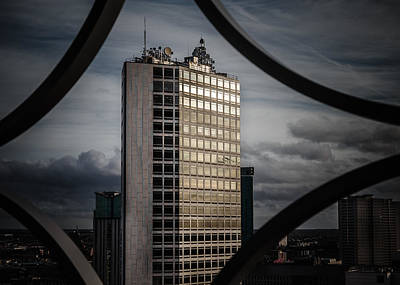 Framed Landscape Photograph - Alpha by Chris Fletcher