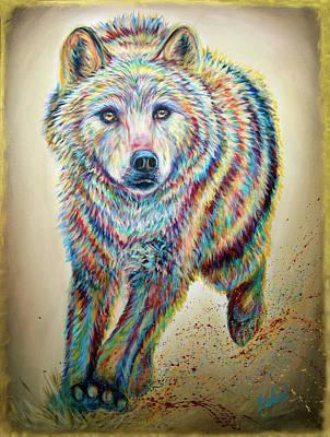 Painting - Alpha by Teshia Art