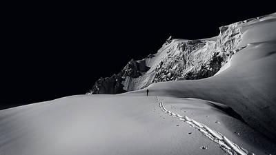 Alpine Journey Print by Simon Steinberger