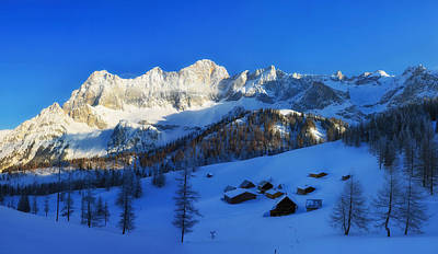 Styria Photograph - Alpine Winter by Mountain Dreams