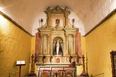 Altar In Santa Catalina Monastery Print by Jess Kraft