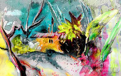 Altea Painting - Altea La Vieja 03 by Miki De Goodaboom