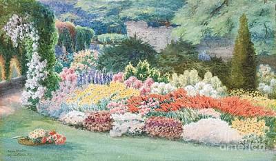 Altenstein Castle Garden Print by Helga von