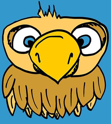 Adorable Digital Art - Alvin The Owl by Jera Sky