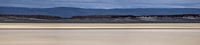 Dry Lake Photograph - Alvord Panoramic 2 by Leland D Howard