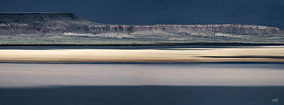 Dry Lake Photograph - Alvord Panoramic 3 by Leland D Howard