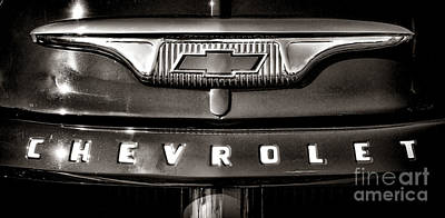 Always A Chevrolet  Print by Olivier Le Queinec