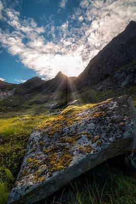 Always Sunny In Lofoten Print by Tor-Ivar Naess