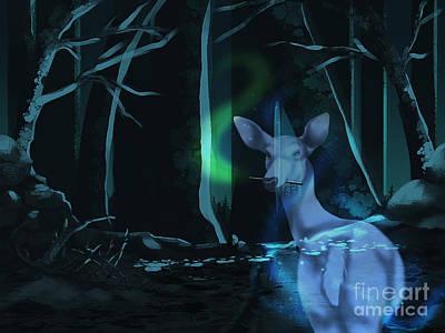 Deathly Hallows Digital Art - Always by Torachi Lyncaster