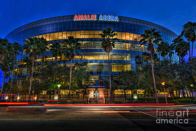 Amalie Arena 2 Print by Marvin Spates