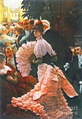 Ambition Photograph - Ambitious Woman 1884 by Padre Art