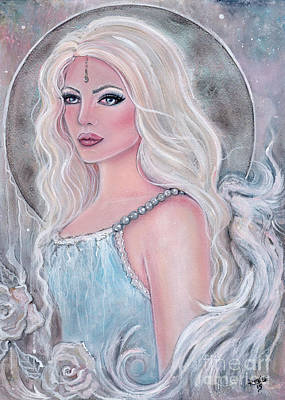 Angel Art Painting - Ambriella by Renee Lavoie