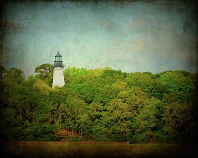 Beacon Photograph - Amelia Island Lighthouse by Carla Parris