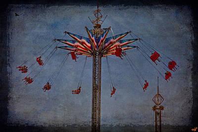 America Swings Print by Chris Lord