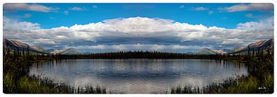 America The Beautiful 2 - Alaska Print by Madeline Ellis